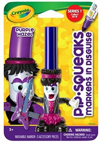 Crayola Crayola Pip-squeaks Purple Hazel in Disguise Marker