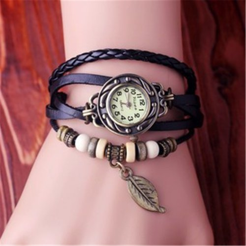 Women Watches Brand Luxury Dress Watch Leather Strap Bracelet Ladies Wristwatch Vis-40