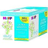 HiPP Babysanft Feuchttücher Ultra Sensitiv 12 x 52 Stück, 1er Pack (1 x 2.886 kg)