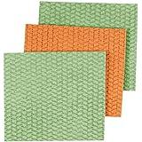 Casabella Sponge Cloths, 3-Pack, Assorted Colors