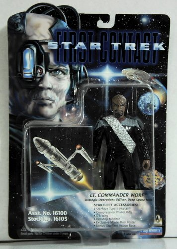 Star Trek First Contatc Lt Commander Worf - 1