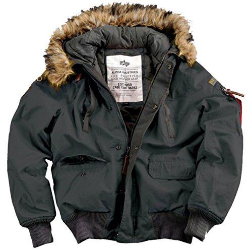 "Alpha Ind. Jacke ""Mountain Jacket"" – rep.grey S-3XL NEU günstig bestellen"