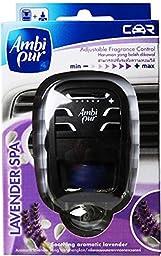 Ambi Pur Lavander Spa Air Car Air Freshener 7ml. X 1 Pcs.