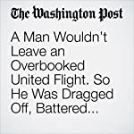 A Man Wouldn't Leave an Overbooked United Flight. So He Was Dragged Off, Battered and Limp. | Avi Selk