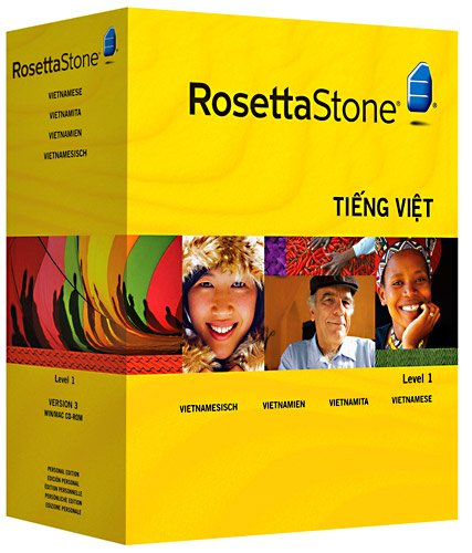 ROSETTA STONE VERSION 3: VIETNAMIEN NIVEAU 1 AVEC AUDIO COMPANION
