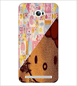 PrintDhaba Abstract Image D-4910 Back Case Cover for ASUS ZENFONE MAX ZC550KL (2016) (Multi-Coloured)