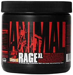 Universal Nutrition Animal Rage Xl, Mango Unchained, 30 Servings