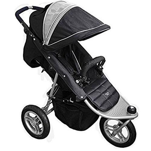 Valco Baby N6155 - Tri-Mode Single Stroller - Black Waffle - 1