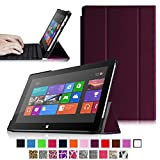 Fintie SlimShell Case for Microsoft Surface RT / Surface 2 10.6-Inch Tablet Ultra Slim Lightweight Stand Cover (Does Not Fit Windows 8 Pro Version) - Purple