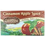 Celestial Seasonings Herb Tea, Cinnamon Apple Spice, 20-Count Tea Bags (Pack of 6) ~ Celestial Seasonings