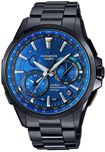 Casio Watch Oceanus GPS Hybrid Solar Radio OCW de g1000b de 1a4jf