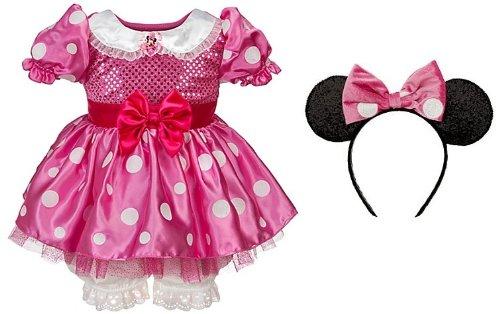 Disney Store Minnie Mouse vestido de traje de Halloween para los ...