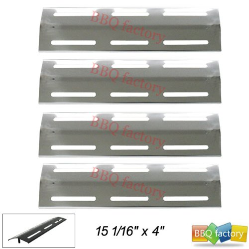91631(4-Pack) Stainless Steel Heat Plate Replacement For Brinkmann And Kenmore Grills