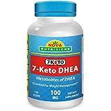 7-KETO 100 mg 120 Vcaps by Nova Nutritions