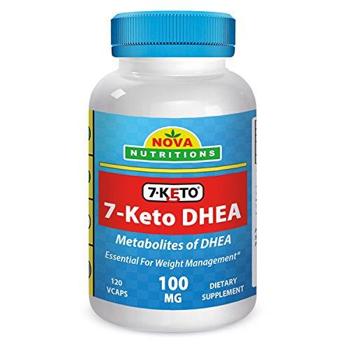 7-KETO 100 mg 120 Vcaps par Nova Nutritions