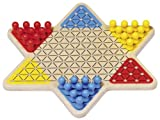 Goki Chinese Checkers Board Game Basic