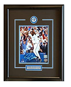 Joe Carter - Celebration Signed Framed 8x10 Photo