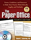 img - for The Paper Office, Fourth Edition: Forms, Guidelines, and Resources to Make Your Practice Work Ethically, Legally, and Profitably (Clinician's Toolbox) by Edward L. Zuckerman Published by The Guilford Press 4th (fourth) edition (2008) Paperback book / textbook / text book