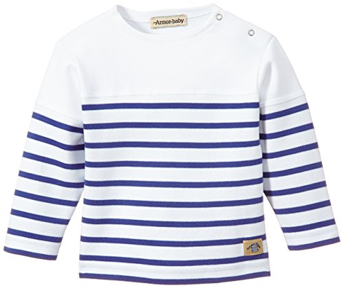 armor-lux-k7355-t-shirt-a-rayures-mixte-bebe-blanc-dw5-blanc-etoile-fr-12-mois-taille-fabricant-12-m