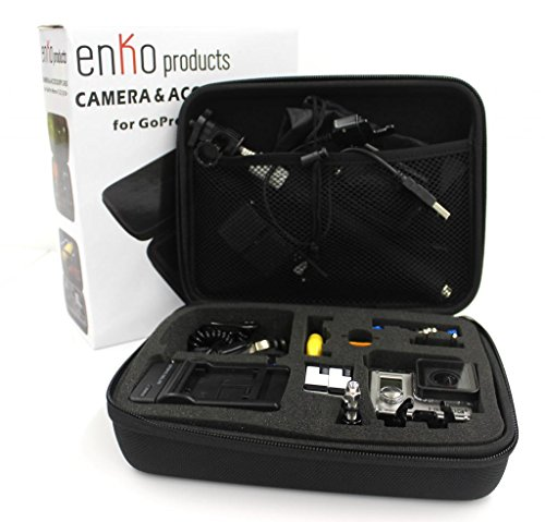 enKo products Go Pro Travel Case For GoPro Hero 1 2 3 3+ 4 and Accessories (GoPro case only, NO accessories included)