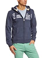 TOM TAILOR Polo Team - embroidered sweat jacket/403 - Sweat-shirt Homme
