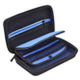Mudder Hard Travel Carrying Case Bag Cover for New 3DS XL/ 3DS XL with Carry Strap, Black