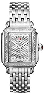 NEW MICHELE ART OF DECO DIAMOND LADIES WATCH MWW06T000062