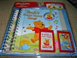 Story Reader Disney's Pooh's Funny Hunny Songs 2 Songbooks and Microphone Set