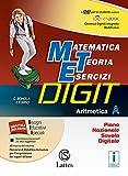 Matematica teoria esercizi digit. Aritmetica A. Tavole numeriche-Mi preparo-Quaderni. Con e-book. Con espansione online. Per la Scuola media. Con DVD-ROM: 1