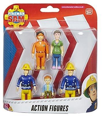 Feuerwehrmann Sam Actionfiguren 5er Packung [UK Import]