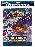 Pokemon Platinum Rising Rivals Trading Card Game 9-Pocket Portfolio