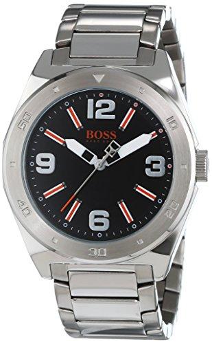 Hugo Boss Mens Gents Orange 1512899 Black Dial Bracelet Wrist Watch