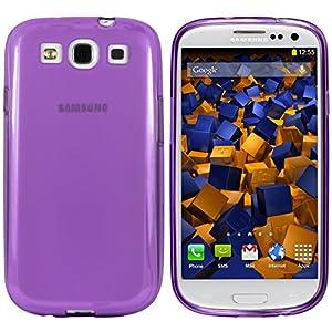 mumbi TPU Skin Case Samsung Galaxy S3 Silikon Tasche Hülle - Silicon Protector Schutzhülle lila