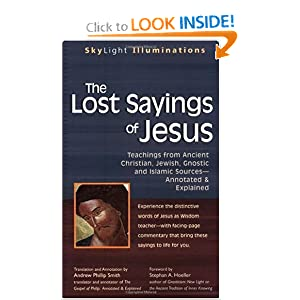 Amazon.com: The Lost Sayings of Jesus: Teachings from Ancient ...