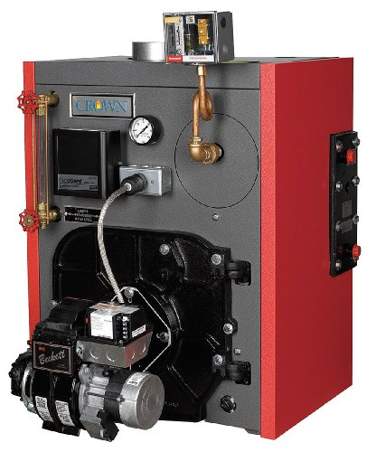 Crown Boiler - KSZ100BOPT2PSU - Atmospheric Vent Steam Boiler, Oil