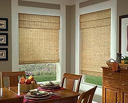 Samoa Natural Woven Bamboo Window Shade (68\