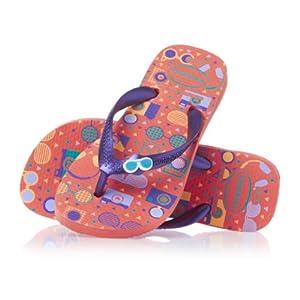 Havaianas Kids Fun Flip Flops - Salmon