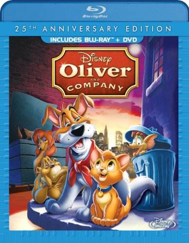 Oliver & Company: 25th Anniversary Edition (Blu-ray/ DVD Combo Pack) (Disney Movie Pack compare prices)