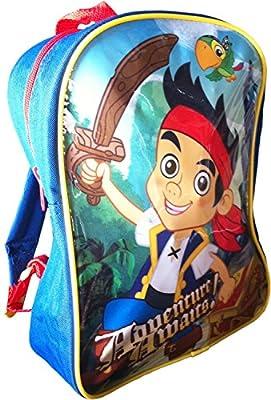Disney Cartoon Jake & The Neverland Pirates 3 Piece Kids Childrens Luggage Set & Wallet