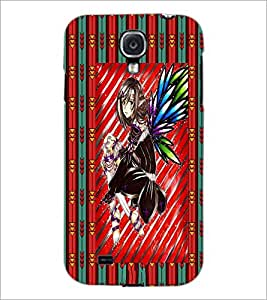 PrintDhaba Cute Girl D-4611 Back Case Cover for SAMSUNG GALAXY S4 (Multi-Coloured)