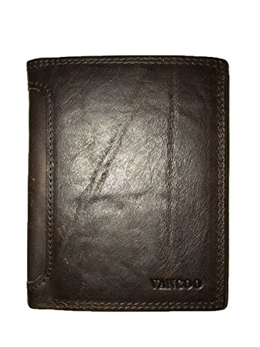 vancoo-luxury-brown-leather-8-card-multi-function-wallet-for-men