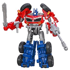 Transformers Prime Beast Hunters Commander Class Optimus Autobot Leader Figure