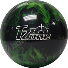 Click here to buy Brunswick TZone Green Envy Bowling Ball by Brunswick.