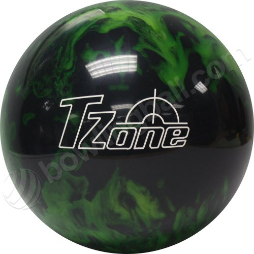 Brunswick TZone Green Envy Bowling Ball (14-Pounds)