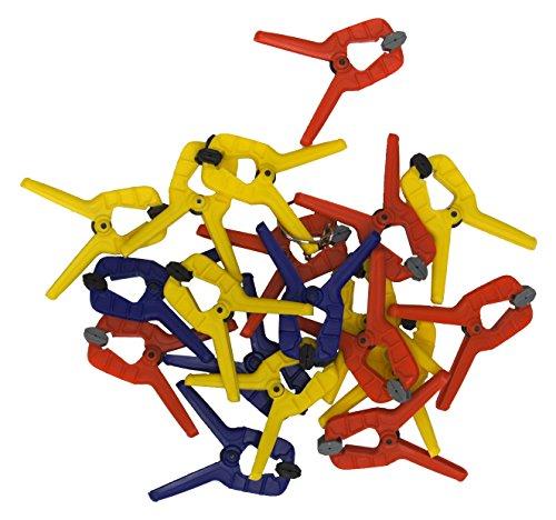Connex COXT864425, Set di morsetti a molla 25 mm, 20 pz.