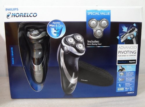 Philips Norelco At880 Aquatec Powertouch Rechargeable Cordless Razor