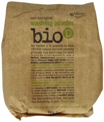 Bio D Washing Powder Concentrated 1 kg (Pack of 3)