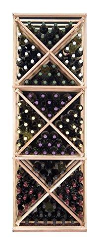 Designer Series 132 Bottle Wine Rack Finish: Unstained Premium Redwood front-599574