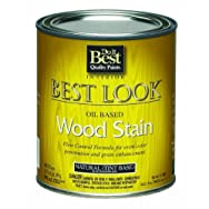 -W44N00804-12Best Look Interior Wood Stain-PECAN INT WOOD STAIN