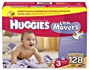 Huggies Supreme Little Movers, Size 3,128-Count